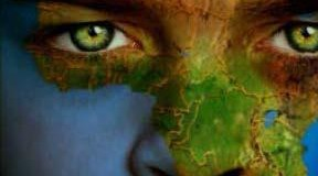 الطفل وخريطة العالم